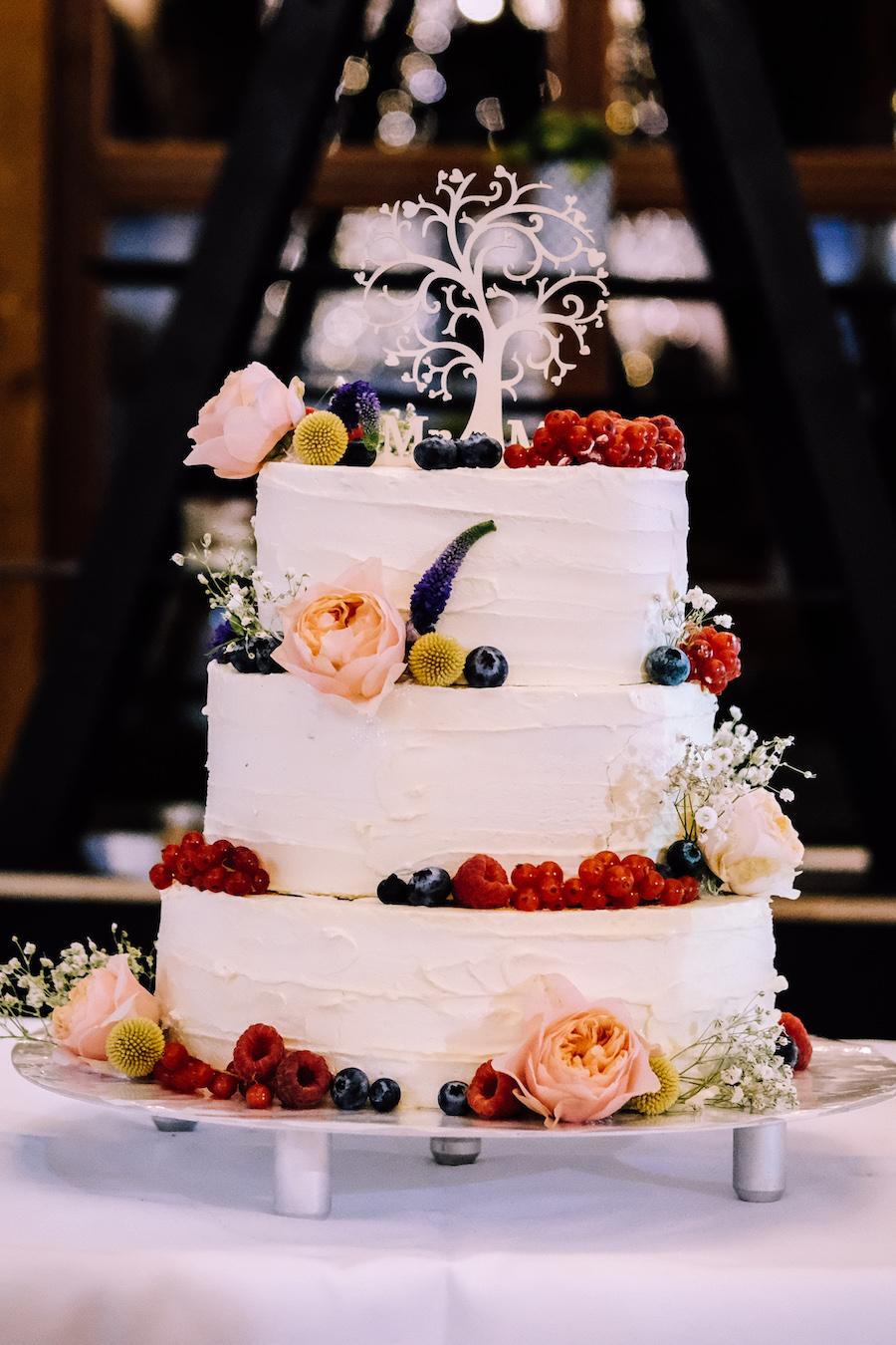 Hochzeitstorte Idee